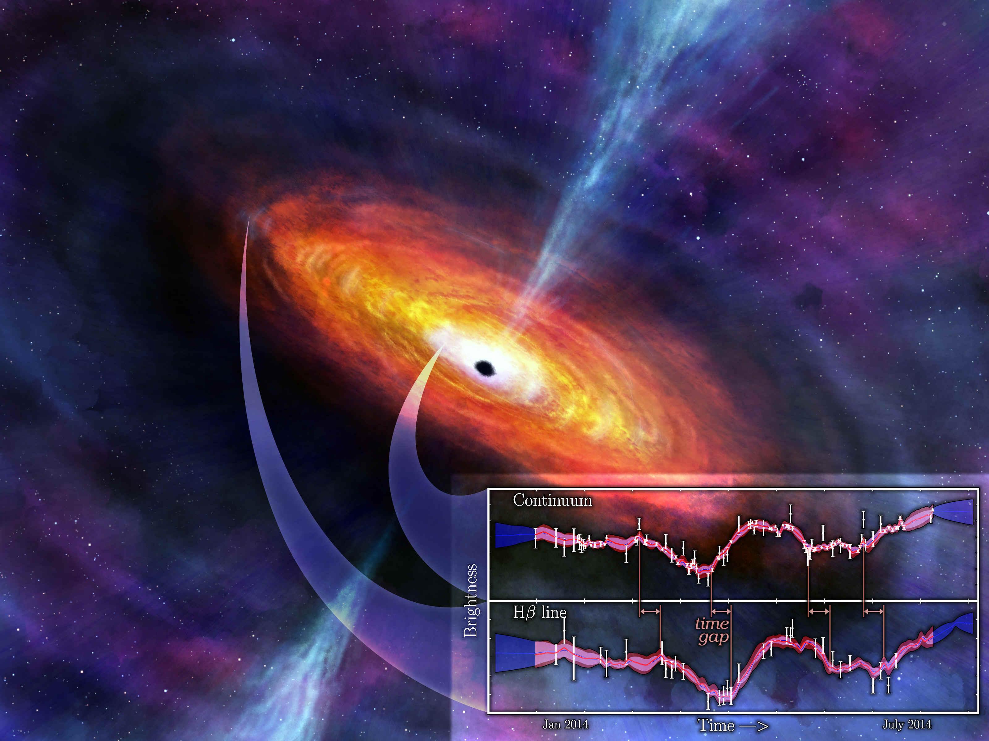 Обои огненный хвост, астероид, планеты. Космос foto 11